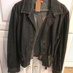 Apple Bottom denim jacket